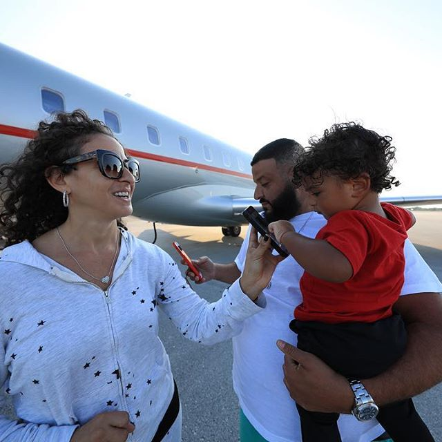 Dj Khaled wife and son going to the Bahamas for a family Holiday