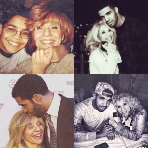 Drake and His Mother Sandi Graham - Drake's mom