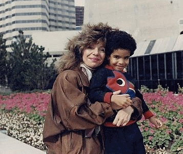 Drake and His Mother When He Was a Kid- Drake's mom