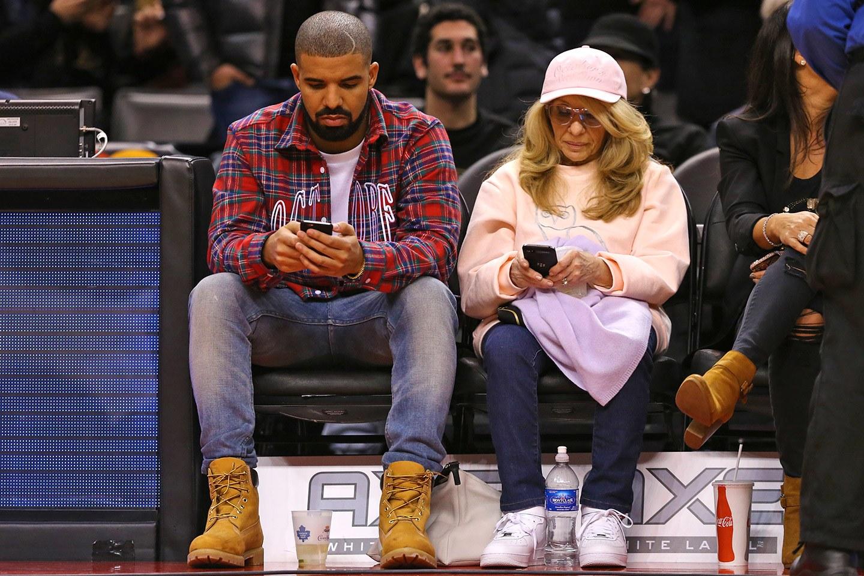 Drake's mom Sandi Graham & Drake -djkhaledquotes.com
