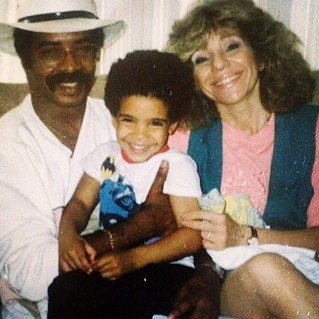 Drake's mom, Drake and Drake's Dad -djkhaledquotes.com