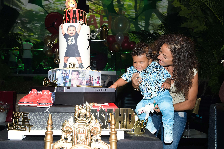 Asahd Khaled First Birthday