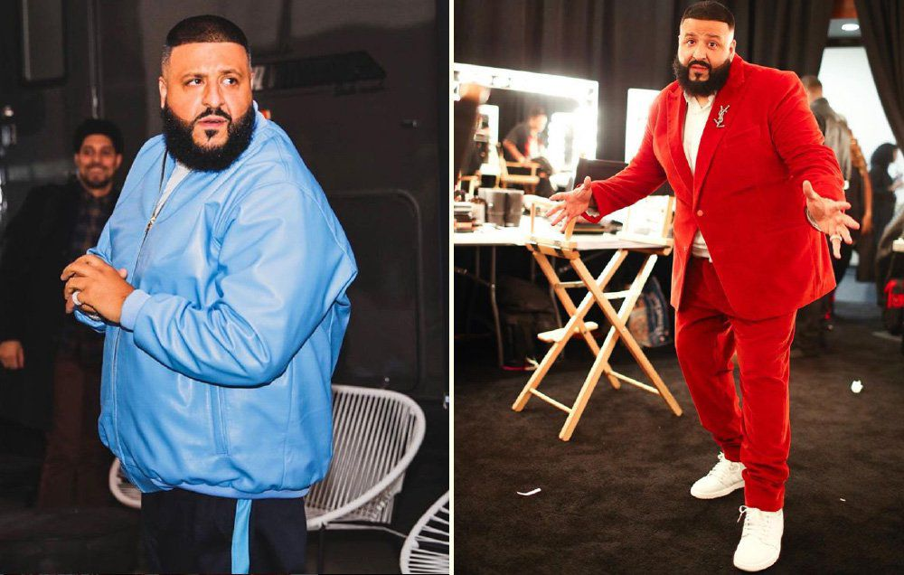 DJ Khaled 26 pounds weight lost using weight watchers
