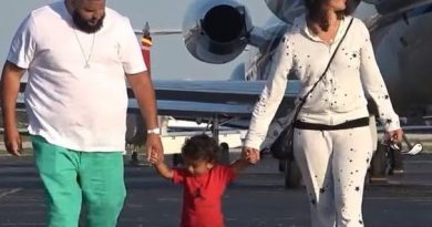Dj Khaled and family going to bahamas