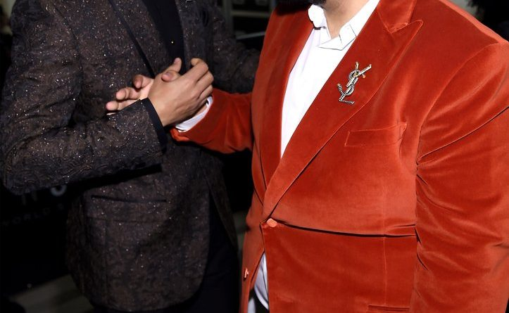 Dj Khaled and Trevor Noah