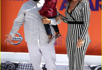 Dj Khaled, Nicole Tuck and Asahd at the BET 2018