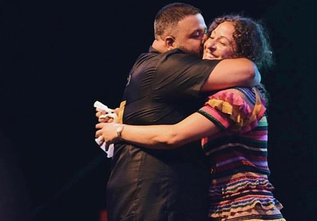 Dj Khaled and Nicole Tuck Kissing in Jamaica during the Father of Asahd final touches