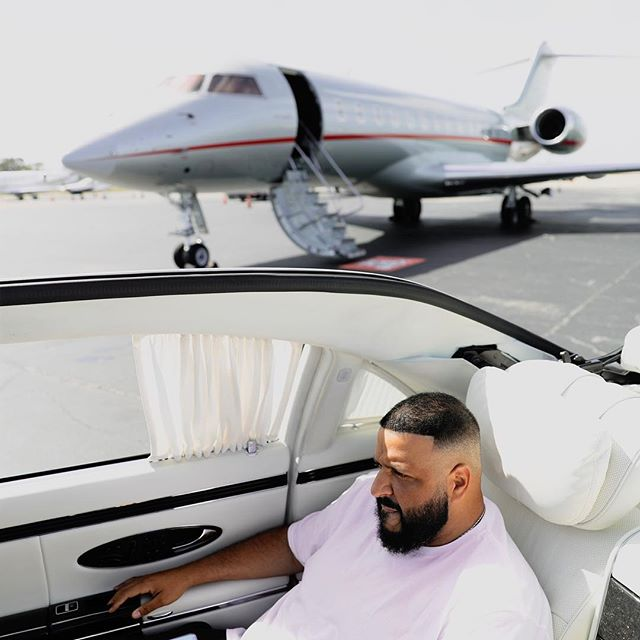 DJ Khaled and His family going to Jamaica