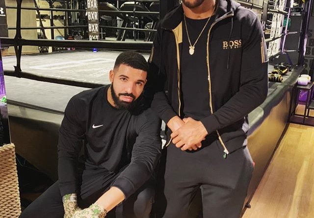 Drake and Anthony Joshua