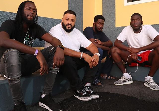 Dj Khaled in Jamaica