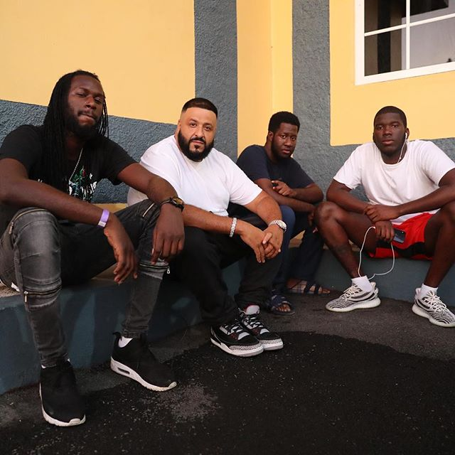 DJ Khaled in Jamaica -Kingston